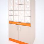Шкаф Каталожный на 16 ящиков