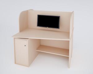 Стол компьютерный с сервером под ключ_1