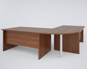 Стол рабочий с двумя приставными столами